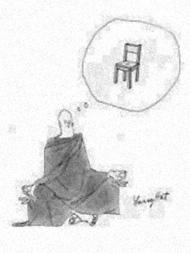 Monk's Meditation Stool