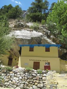 Sivananda's Cave at Gangotri