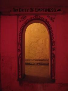 Deity of Emptiness [Sri Anandamayi Ma Ashram (Omkareshwar)]